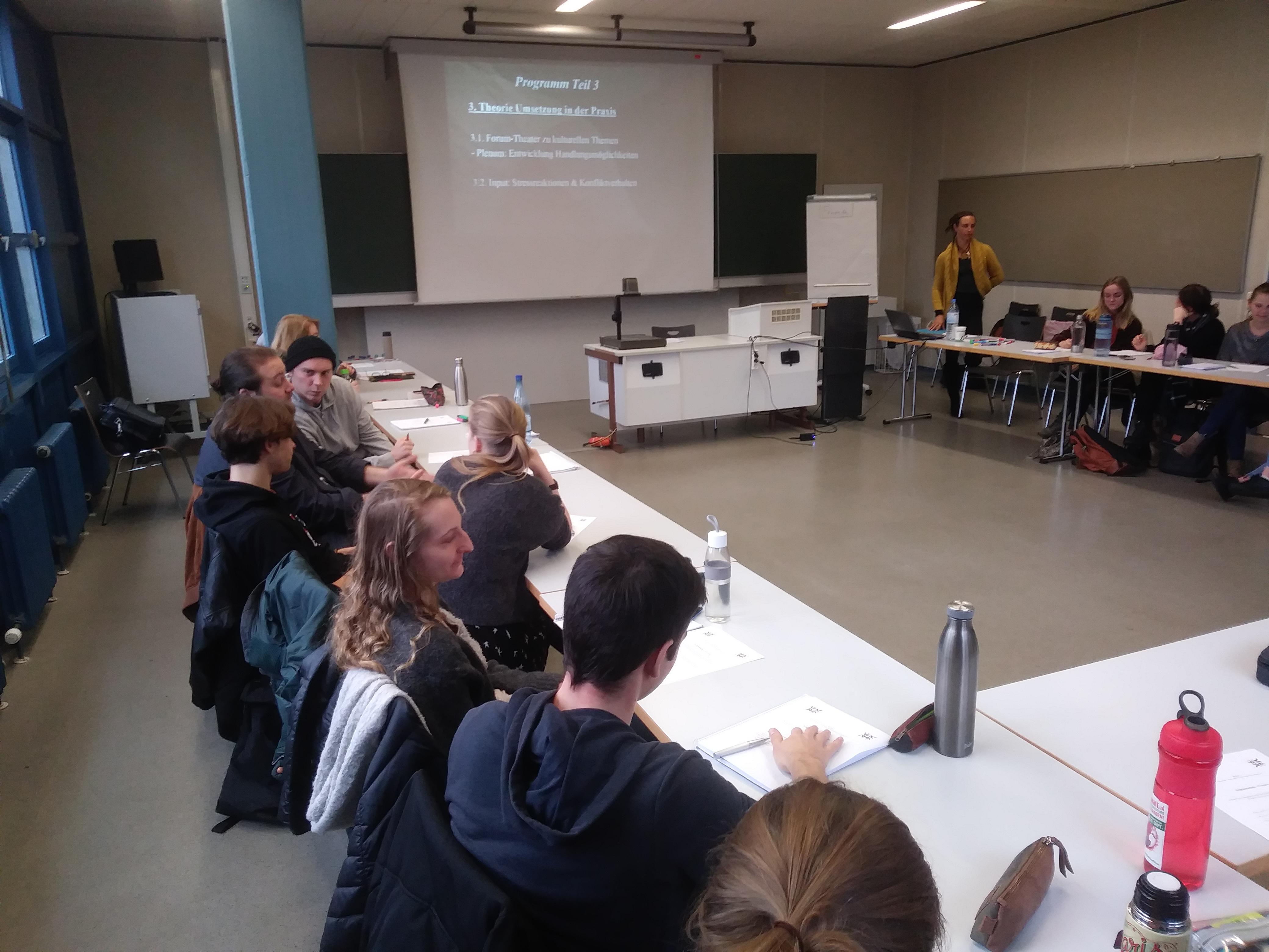 """Beratungsworkshop zu dem Thema """"Interkulturelle Kompetenzen"""""""